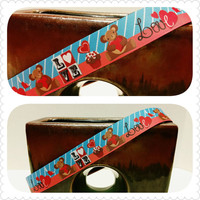 Valentine's Day Dog Collars in Various Prints