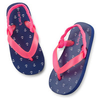 Carter's Anchor Flip Flops