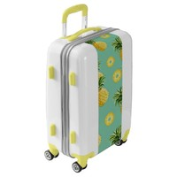 yummy delicious pineapples luggage