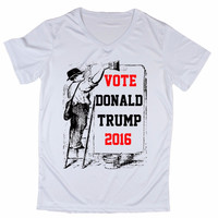 Vote Donald Trump V Neck T-Shirts