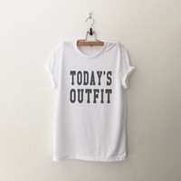 Today's outfit print TShirt womens girls teens unisex grunge tumblr instagram blogger pinterest punk hipster swag dope hype gifts merch