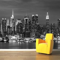3D wallpaper for wall 3d Mural New York Landscape photo Wallpaper Wall Mural Large living room bedroom backdrop painting