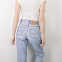 Vintage (Size XS) Levis 550 80s High Waisted Denim Jeans