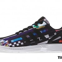 "titolo adidas zx flux M19844""Photo Print Pack""Black/Clack/True BlueR"
