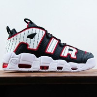 NIKE Air More Uptempo sells printed men's basketball shoes