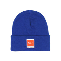 Only NY: Messenger Beanie - Royal Blue