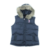 U.S. Polo Assn. Womens Signature Lined Outerwear Vest