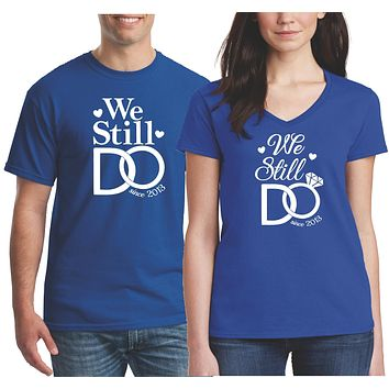 Wedding Anniversary Shirts for Husband and Wife | Our T Shirt Shack