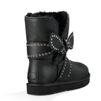 UGG Women Fashion Wool Half Boots Snow Boots Shoes