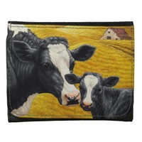 Holstein Cow and Calf Wallet