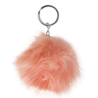 Fuzz Ball Mini Keychain