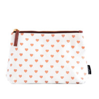 Travel Pouch - Copper Hearts