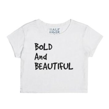 Bold and beautiful-Female Snow T-Shirt