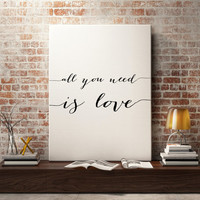wall art quote, Wall art prints, Typography print, printable art, printable quotes, Bathroom art print