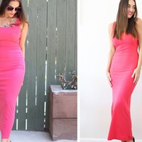Everyday Ribbed Maxi Dresses - 4 Colors!
