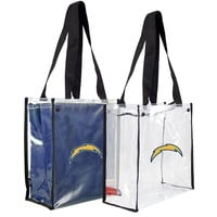 San Diego Chargers NFL Convertible Clear Tote