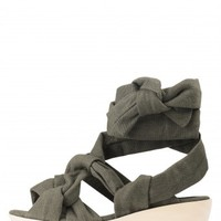 Jeffrey Campbell Shoes RIARIO New Arrivals in Khaki