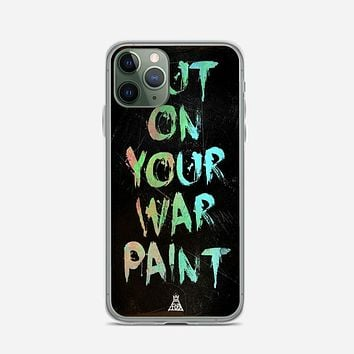 Fall Out Boy Lyrics Just One Yesterday iPhone 11 Pro Max Case