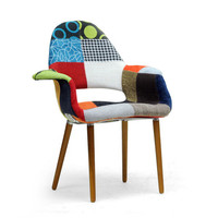 Patchwork Tête-à-Tête Chairs - Set of 2