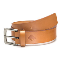 Bison Made No. 1 Leather Belt - Tan