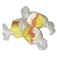 Candy Corn Salt Water Taffy 1/2 lb