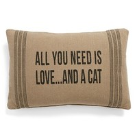 Primitives by Kathy 'And a Cat' Pillow