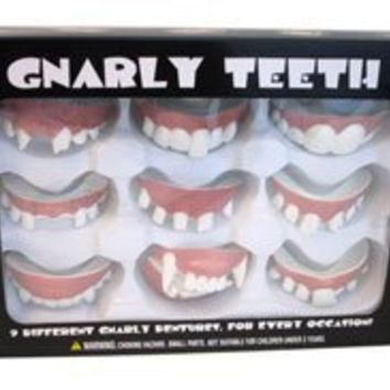 You Get 9 Sets Of Fake Teeth For Kids - Gnarly Teeth