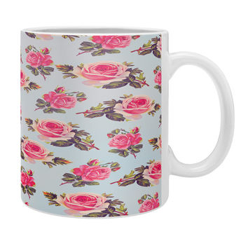 Allyson Johnson Pink Roses Coffee Mug