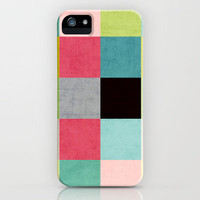 color block II iPhone Case by her art   Society6