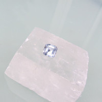 Asscher Cut Blue Sapphire Loose Gemstone for Fine Anniversary Ring or Engagement Ring September Birthstone