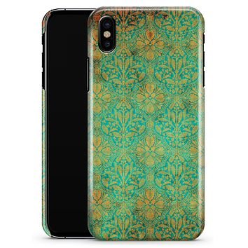 Tropical Grunge Floral Pattern - iPhone X Clipit Case