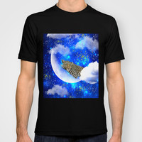 Relax in The moon T-shirt by Haroulita