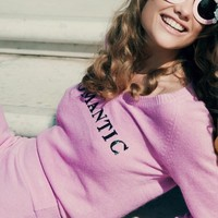 Wildfox Couture Romantic Party V-Sweater in Romantic