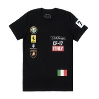 ONETOW Club Foreign Italy T-Shirt in Black