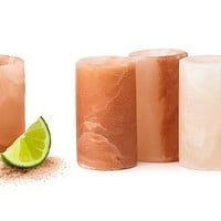 Original and Authentic Himalayan Salt Shot Glass - Set of 4