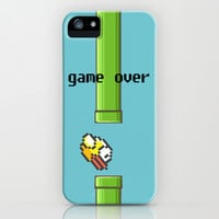 Flabby Bird iPhone & iPod Case by Amber Rose