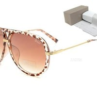 Dior Round Glasses Mirrored Flat Lenses Street Fashion Metal Frame Women Sunglasses [2974244654]