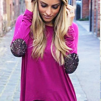 PRE-ORDER Not Your Boyfriend Top: Mulberry | Pretty Edgy