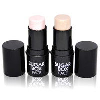 Rosalind Face Makeup Highlighter for face Stick Shimmer Highlighting Powder Creamy Texture Silver Shimmer Light Brand Sugar box