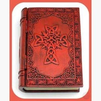 Celtic Cross Book Keepsake Box