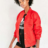 adidas Originals 70s Floral Jacquard Bomber Jacket - Urban Outfitters