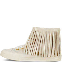 Chuck Taylor All Star Iridescent Leather Fringe