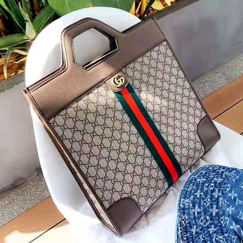 GUCCI Tide brand women's shopping bag handbag