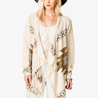 Out West Fringed Cardigan