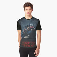 'stranger things sesion two' Graphic T-Shirt by aryapenta