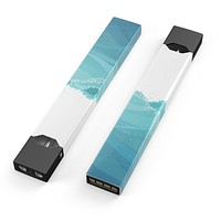 Abstract WaterWaves - Premium Decal Protective Skin-Wrap Sticker compatible with the Juul Labs vaping device