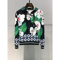 D&G Dolce&Gabbana popular Women's Men's  Casual Long Sleeve Sweater Pullover Sweatshirt