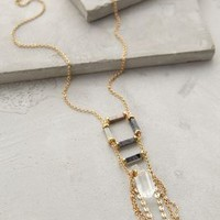Silkeborg Ladder Necklace by Anthropologie Gold One Size Necklaces