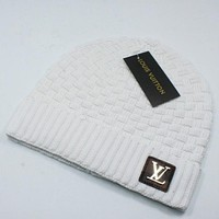 Louis Vuitton Women Men Fashion Simple Casual  Hat Cap