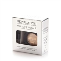 Makeup Revolution Awesome Metals Eye Foils - Rose Gold | tambeauty.com